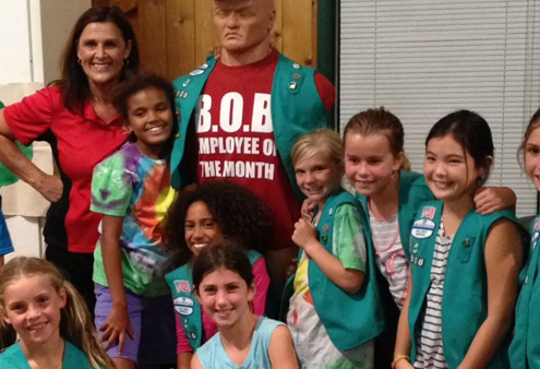 Girl Scouts Self Defense Classes