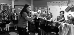 Play it safe defense classes for girl scouts
